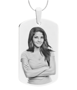 Dog Tag - Photo Engraved