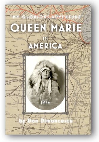 H - QUEEN MARIE in AMERICA: My Glorious Adventure / HARDBACK