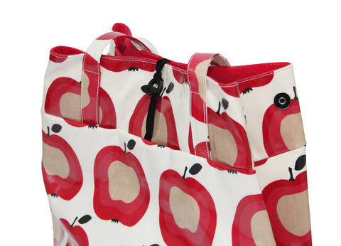 Apple mini expandable tote