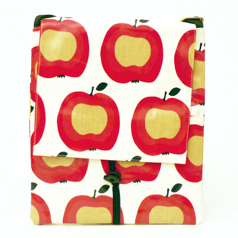 Apple rectangular shoulder bag