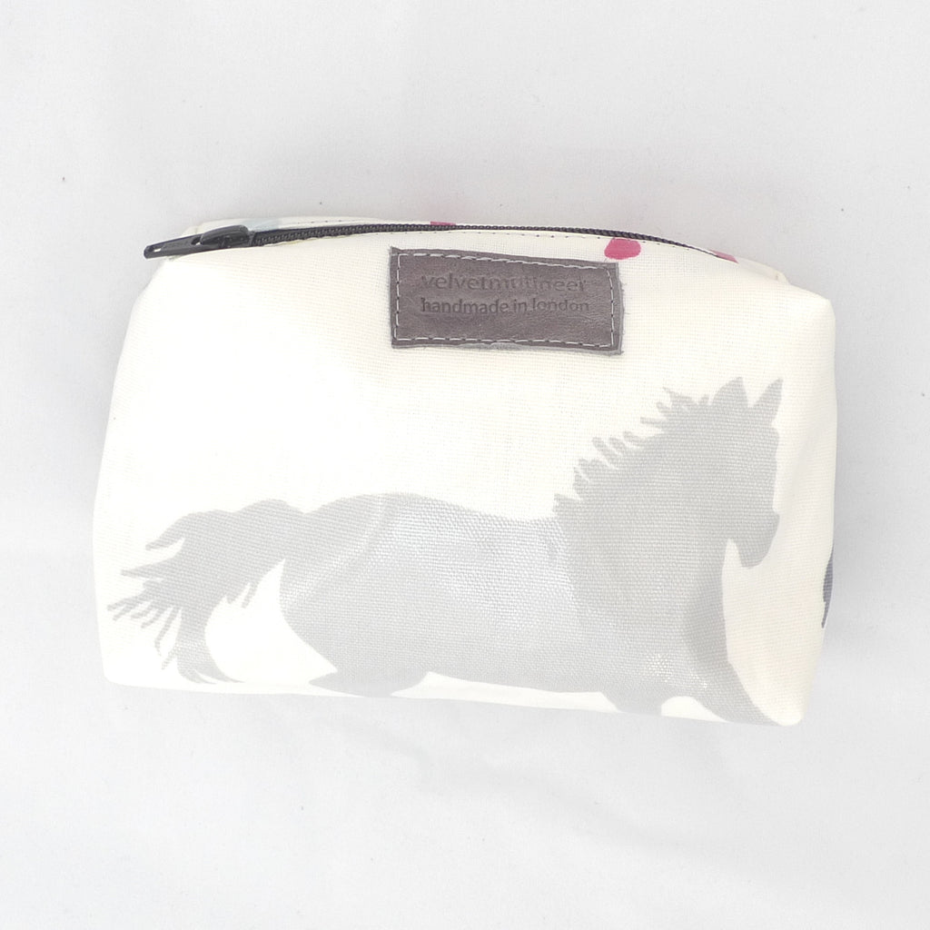 Wild horses cosmetic pouch