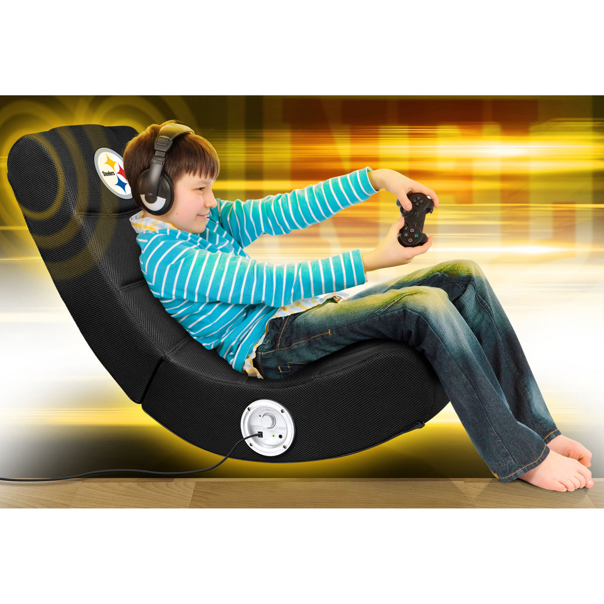 Pittsburgh Steelers Video Chair W/ Bluetooth