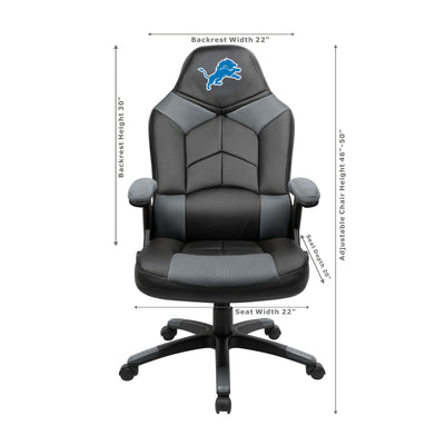 Detroit Lions Oversized Gaming Chair