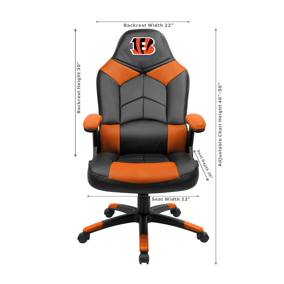 Cincinnati Bengals Oversized Gaming Chair