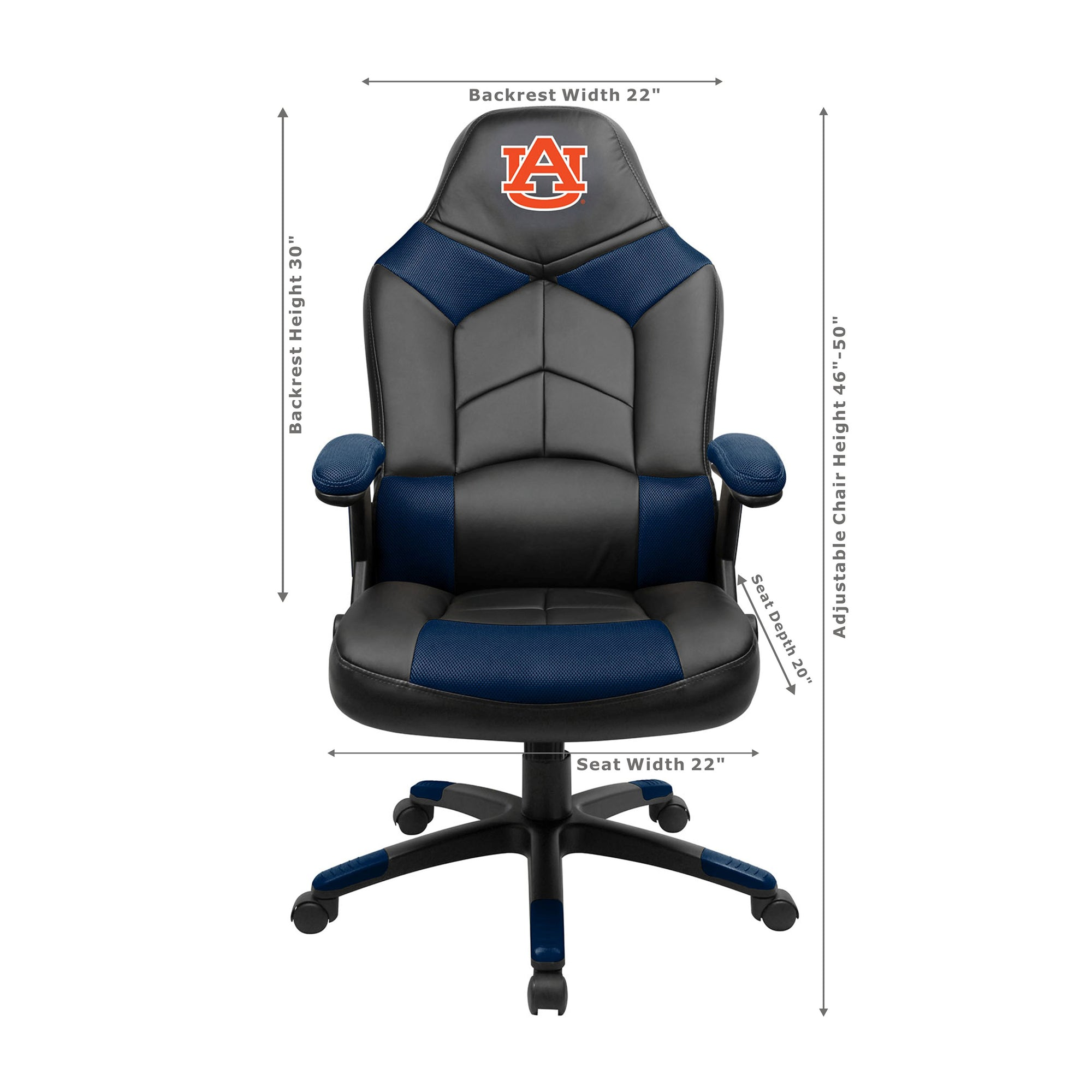 AUBURN UNIVERSITY OVERSIZED GAMING CHAIR