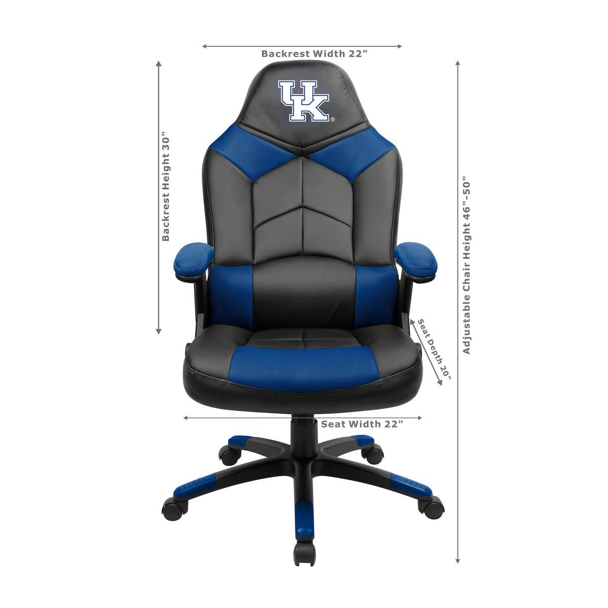 University Of Kentucky Oversized Gaming Chair