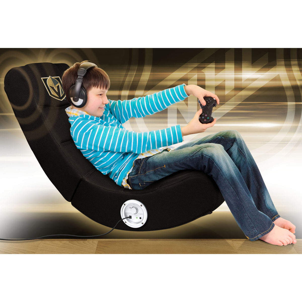 Golden Knights Video Chair W/Bluetooth