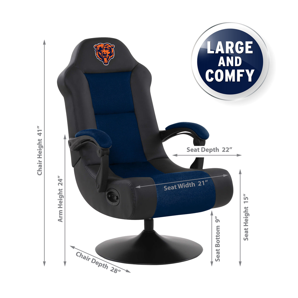 Chicago Bears Ultra Game Chair