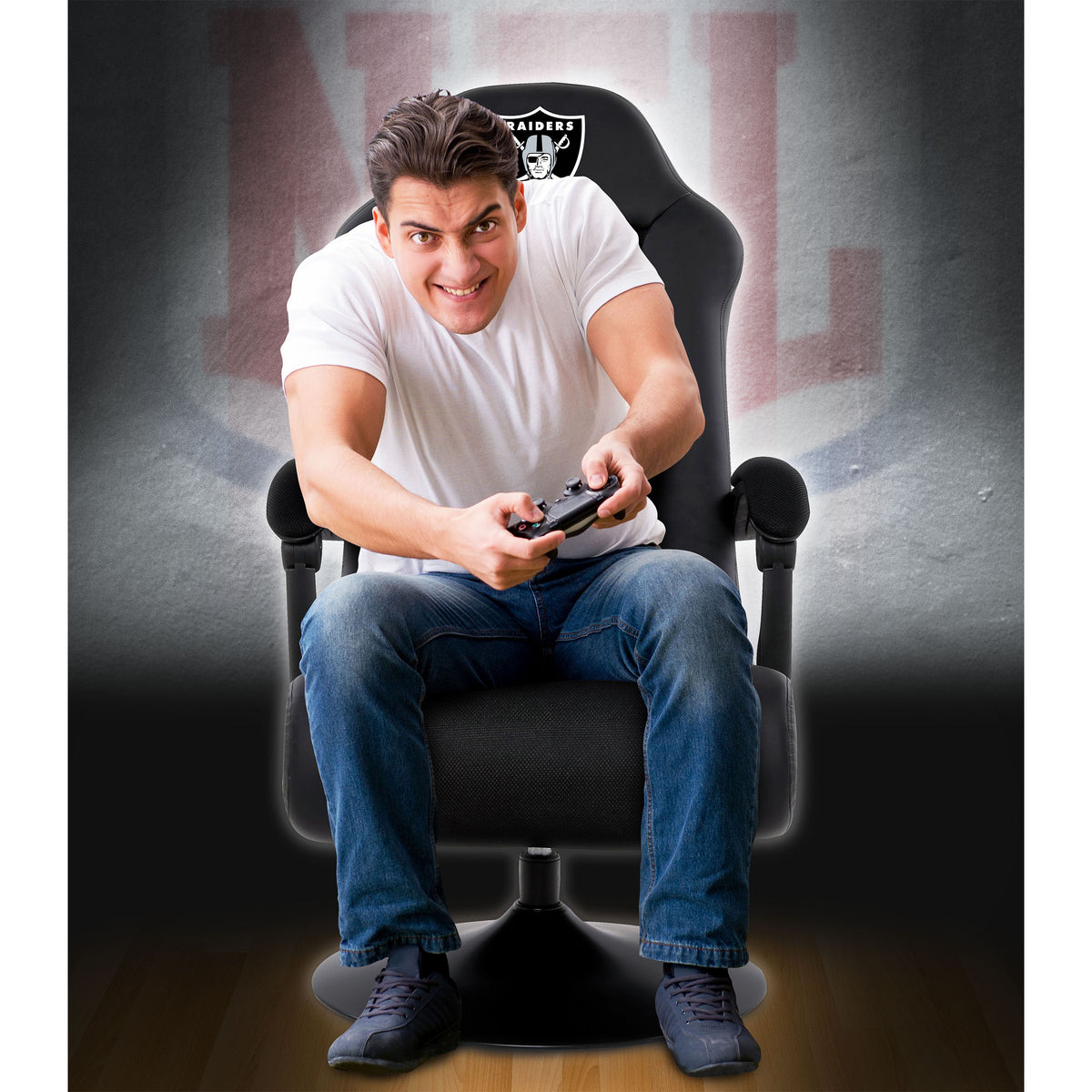 Las Vegas Raiders Ultra Game Chair - Black
