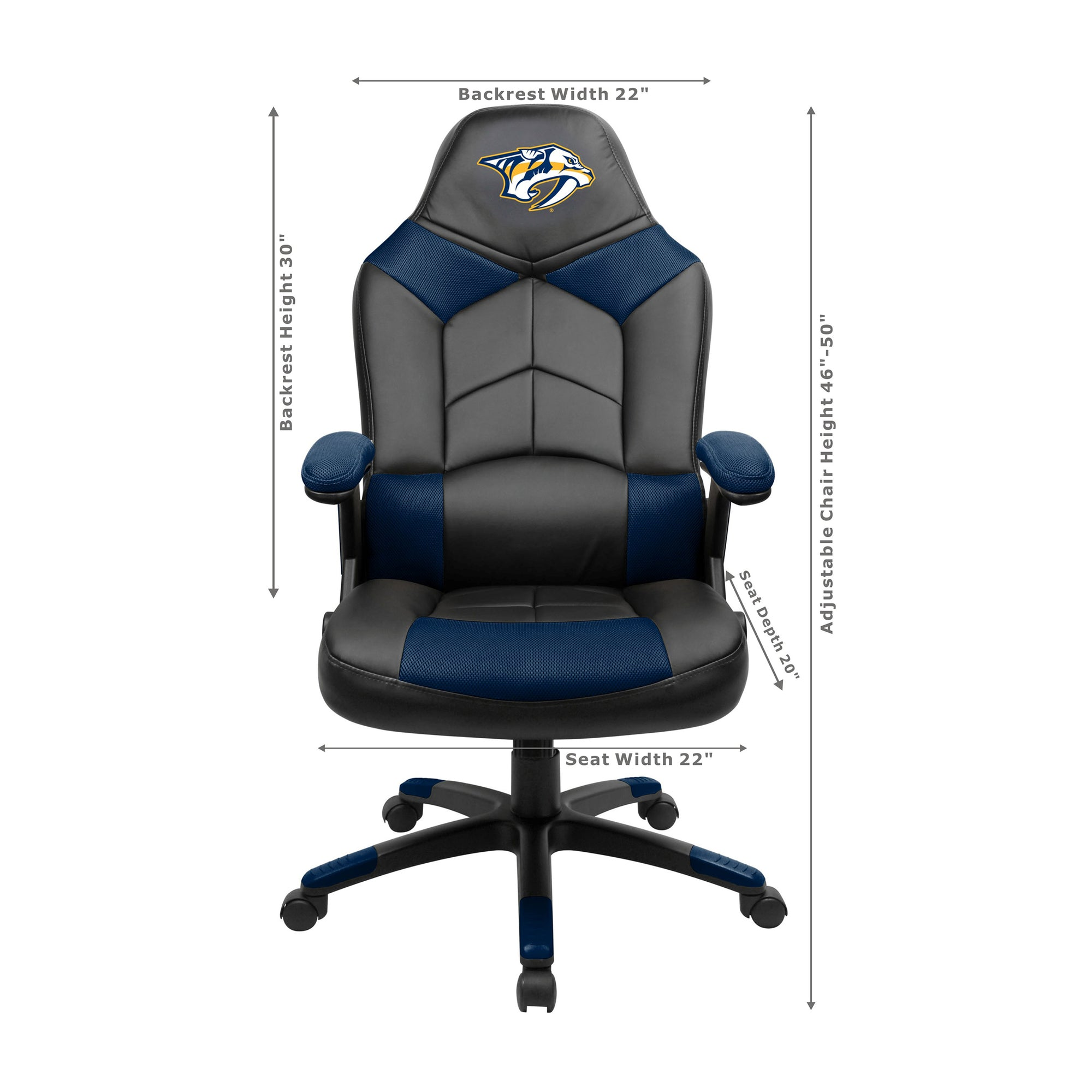 Nashville Predators Oversized Game Chair