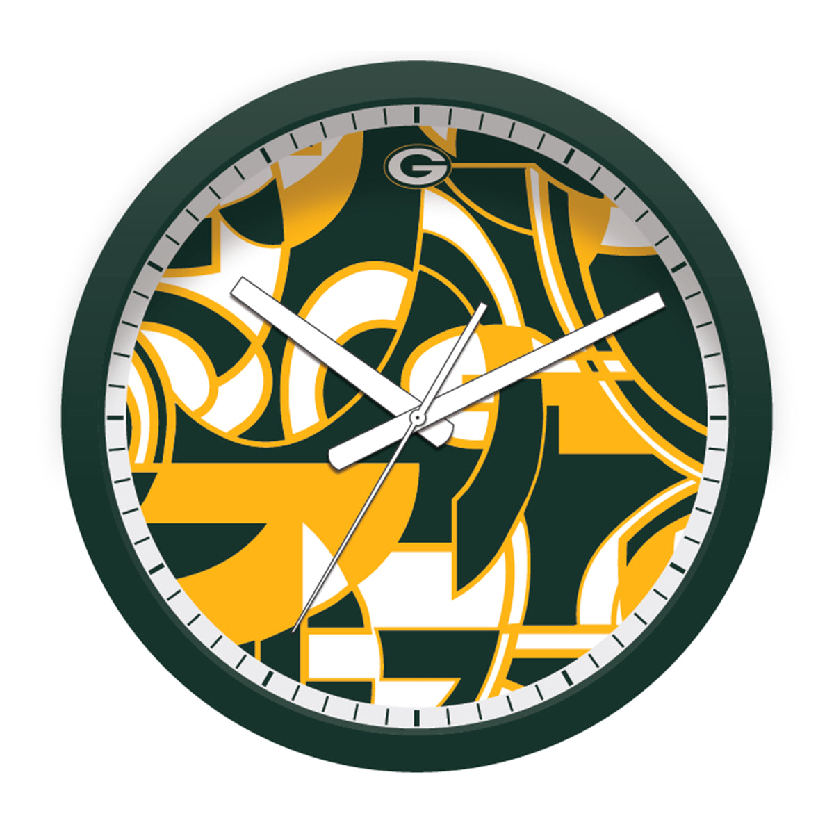 FREE Green Bay Packers Modern Fit Clock