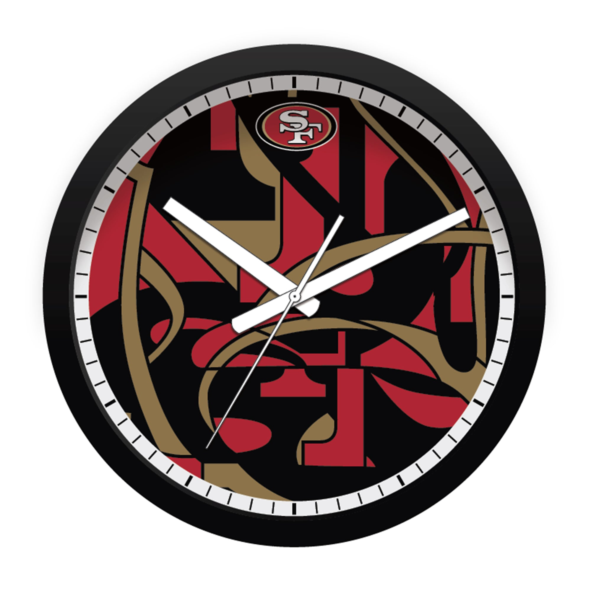 FREE San Francisco 49ers Modern Fit Clock