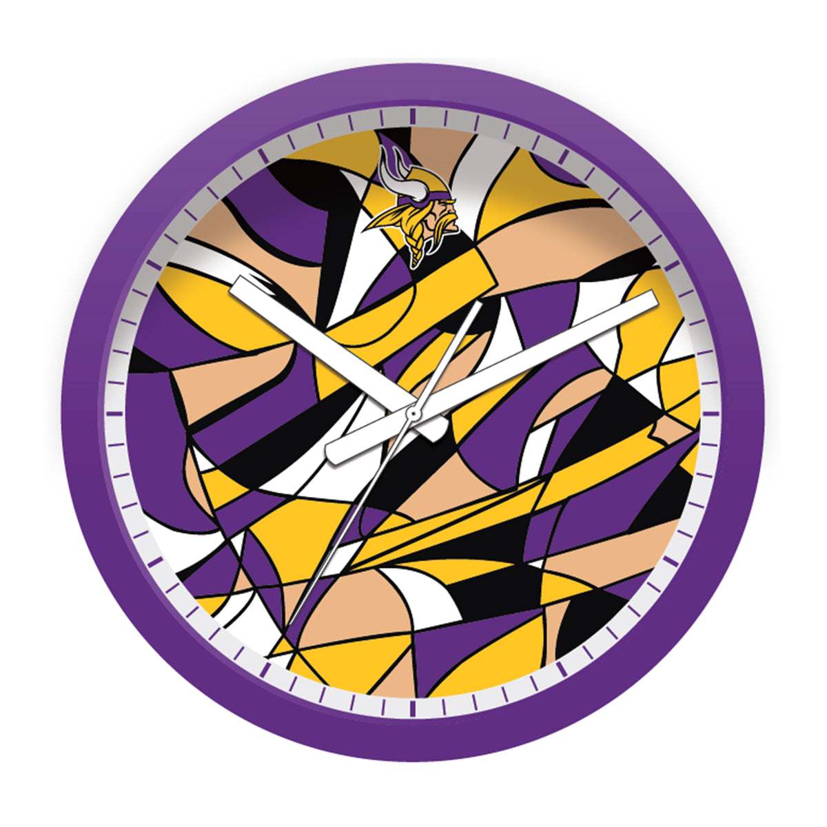 FREE Minnesota Vikings Modern Fit Clock