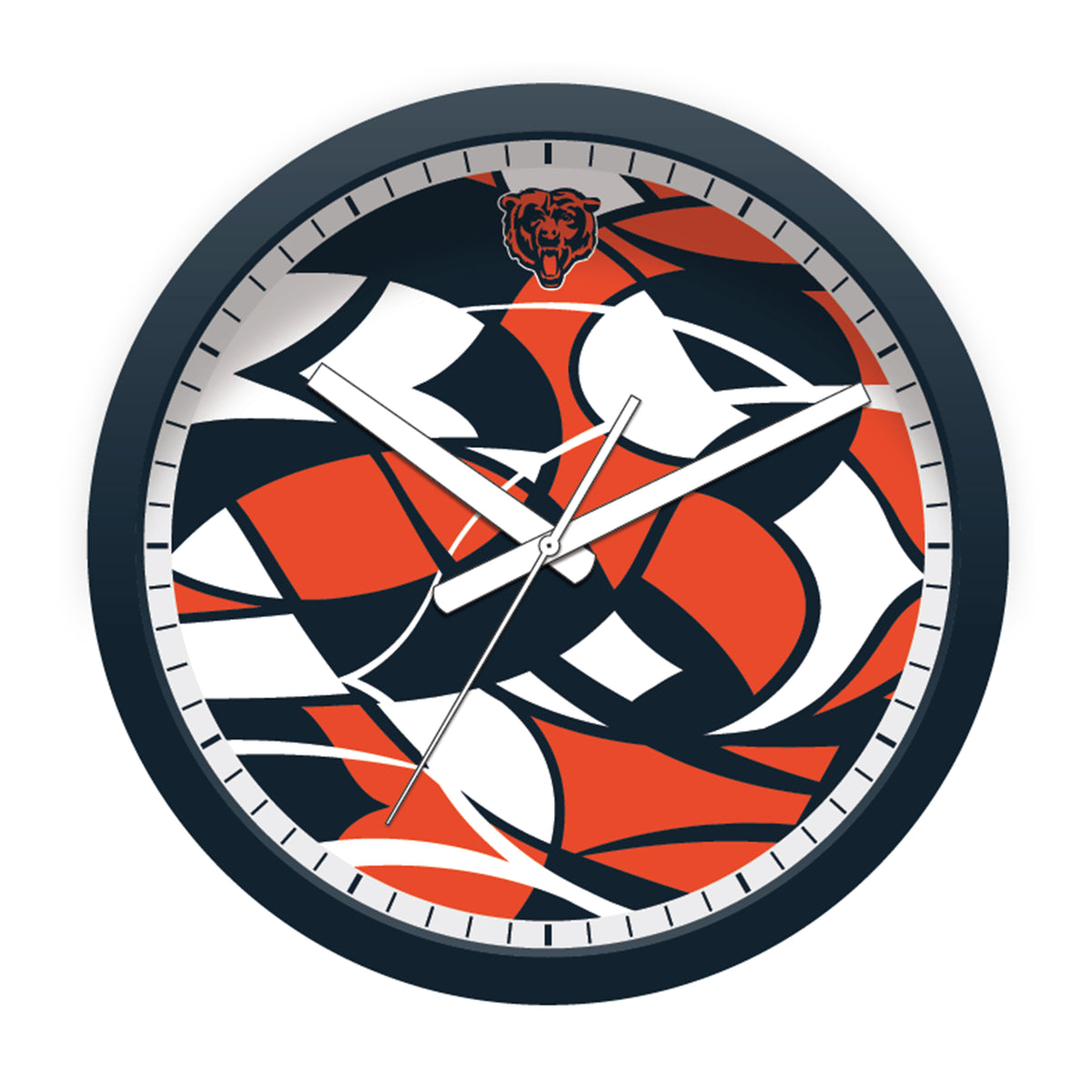 FREE Chicago Bears Modern Fit Clock