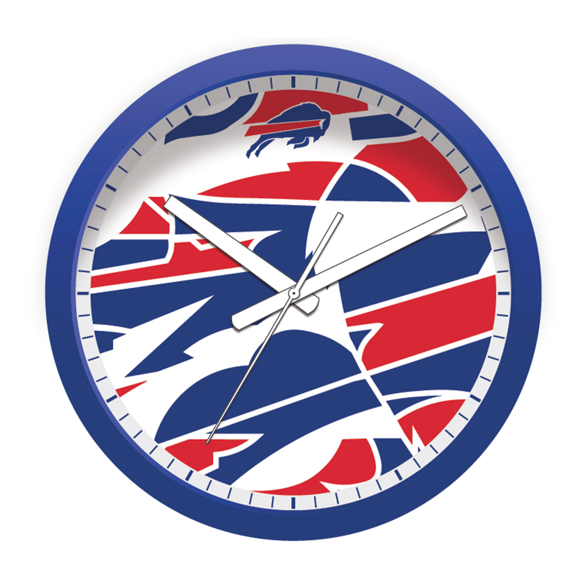 FREE Buffalo Bills Modern Fit Clock