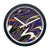 FREE Baltimore Ravens Modern Fit Clock