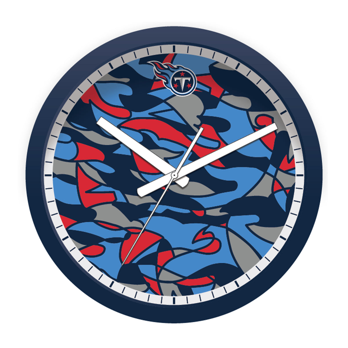 FREE Tennessee Titans Modern Fit Clock