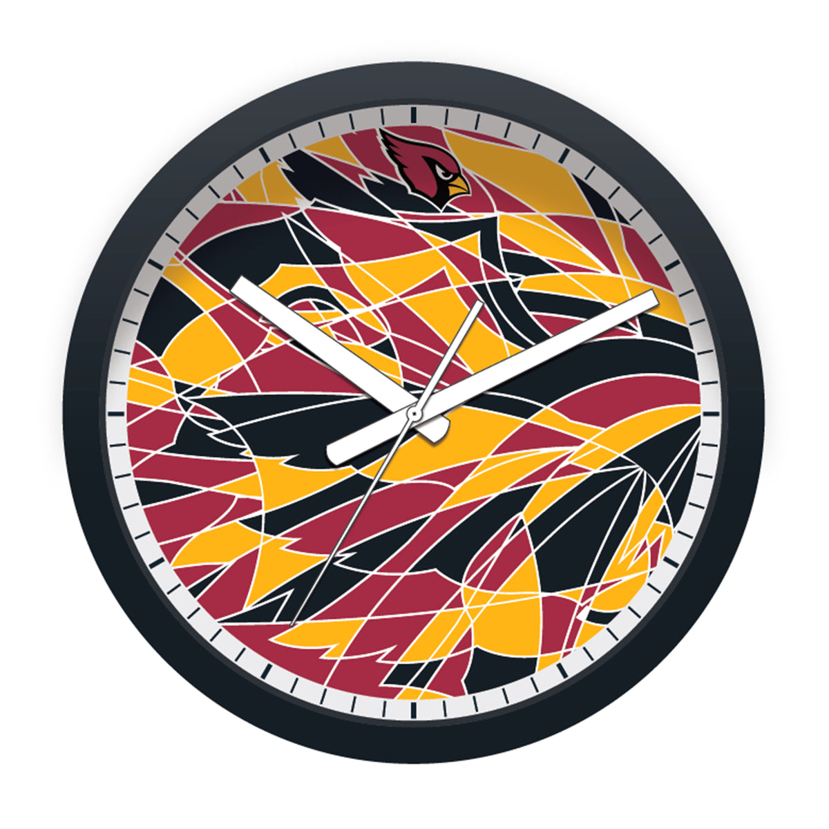 FREE Arizona Cardinals Modern Fit Clock