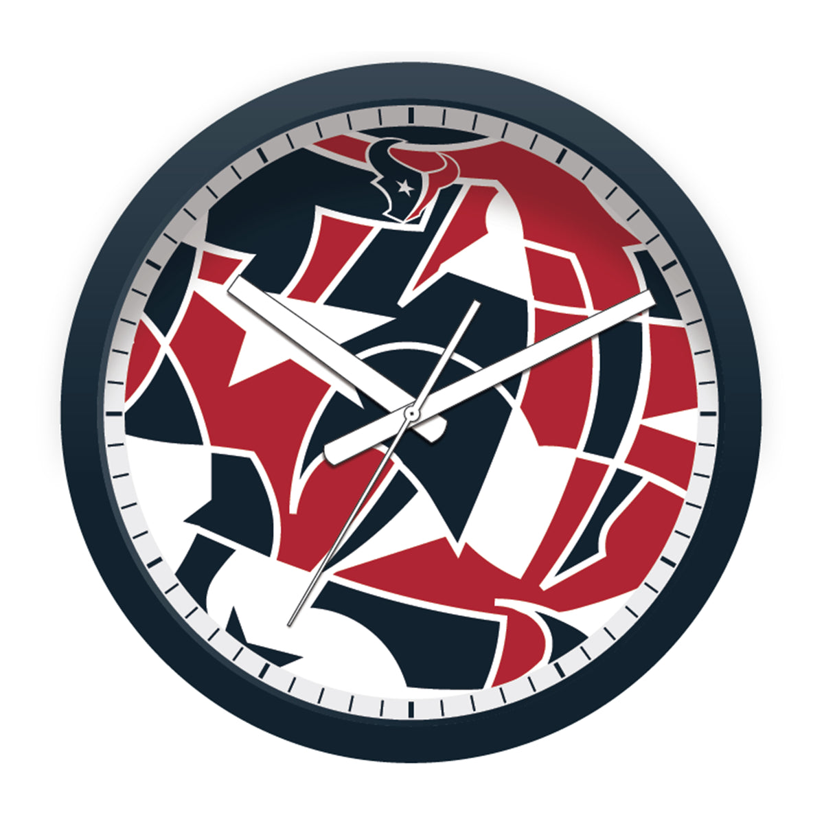 FREE Houston Texans Modern Fit Clock