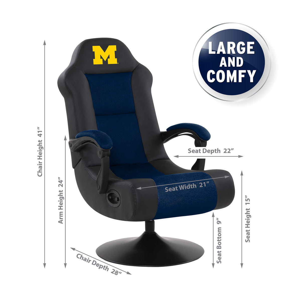 University Of Michigan Ultra Game Chair