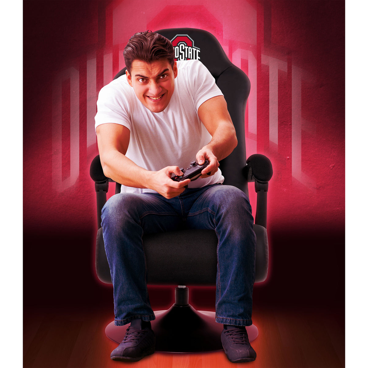 Ohio State Ultra Game Chair - Black