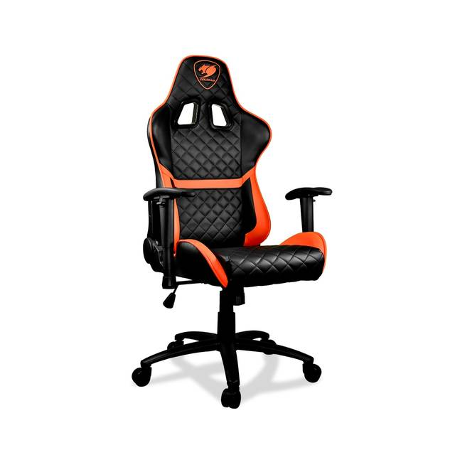 COUGAR Armor One 180 degree continuous recling full steel frame 260 lbs capacity gaming chair