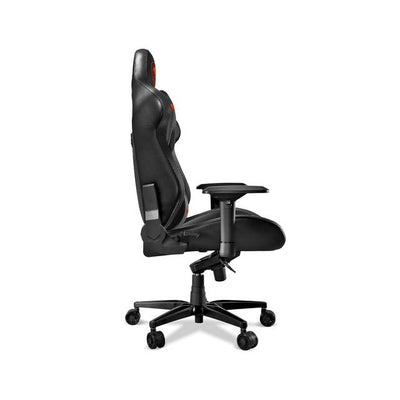 Cougar Armor Titan (Black) ultimate gaming chair with premium breathable pvc leather, 160kg support, 170 degree reclining