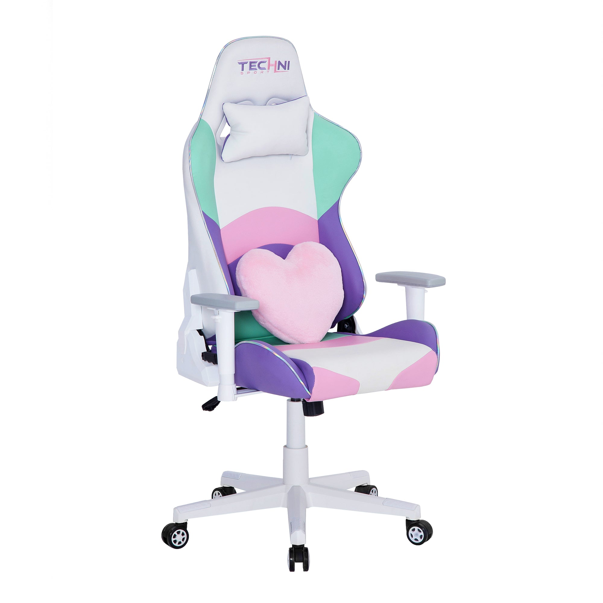 Techni Sport TS-42 Office-PC Gaming Chair, Kawaii