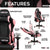 Techni Sport TS-4300 Ergonomic High Back Racer Style PC Gaming Chair, Pink