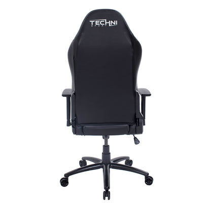 Techni Sport TS-61 Ergonomic High Back Racer Style Video Gaming Chair, Grey/Black