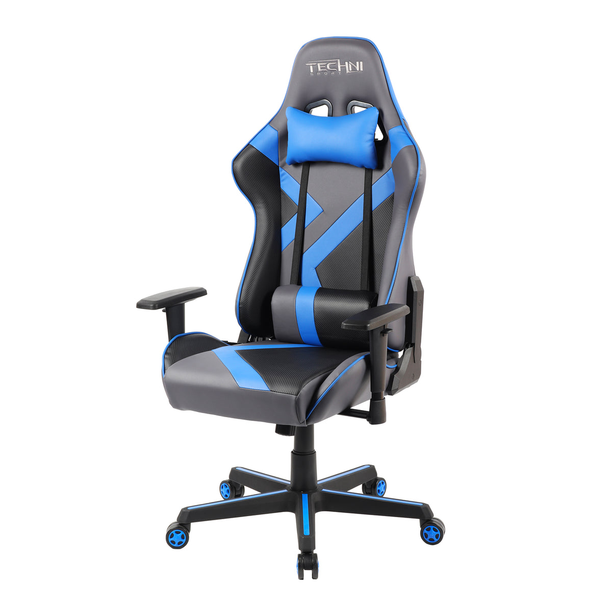 Techni Sport TS-70 Office-PC Gaming Chair, Blue
