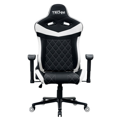 Techni Sport TS-XL1 Ergonomic High Back Racer Style PC Gaming Chair, White
