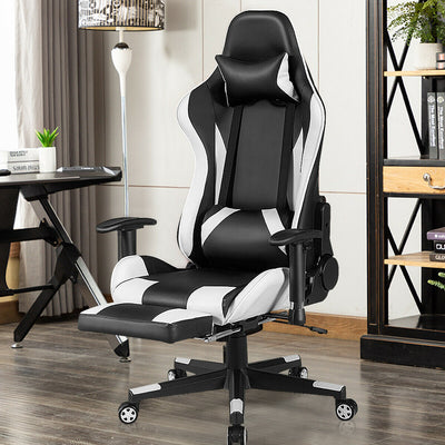 Massage Gaming Chair Recliner Gamer Racing Chair