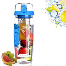 Load image into Gallery viewer, 1L 32 Oz Fruit Infuser Detox  Water Bottle