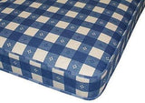 "Load image into Gallery viewer, Starlight Beds All Foam Reflex Foam 6"" Inch Blue Check Mattress - starlightbeds.co.uk"
