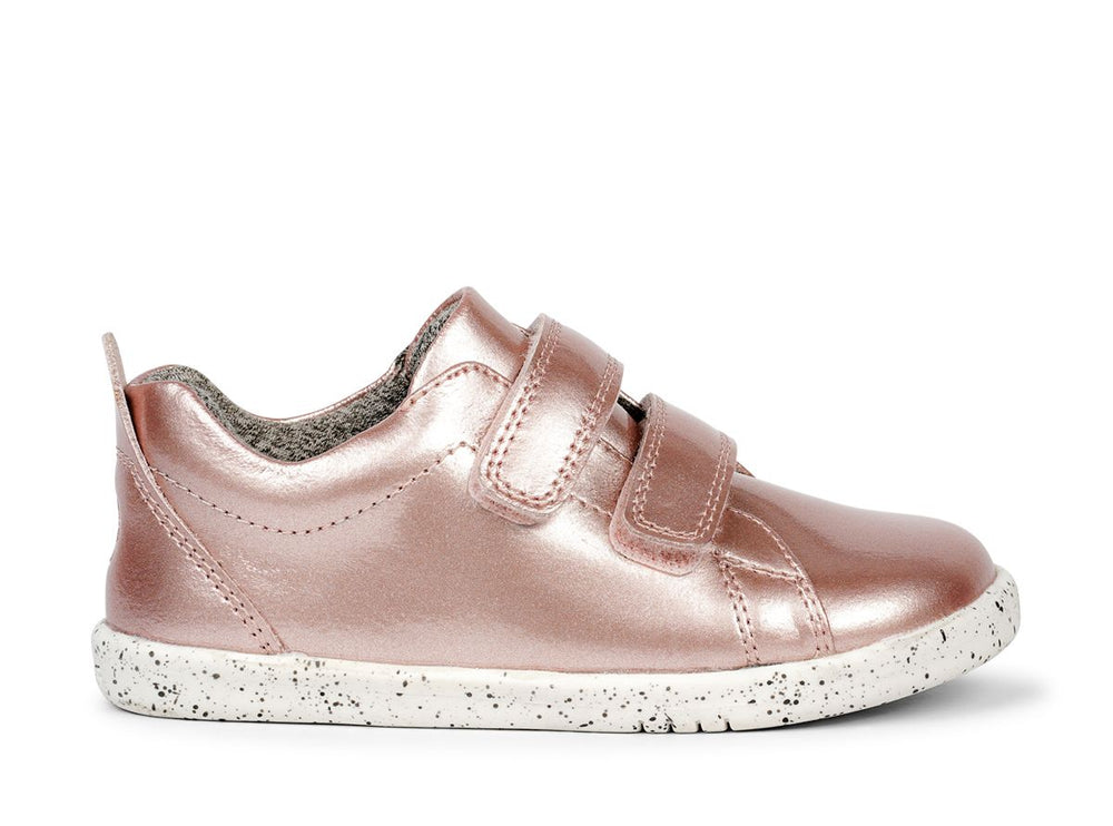 Bobux I Walk Grass Court Waterproof Rose Gold