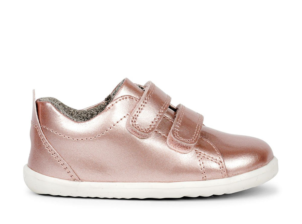 Bobux Step Up Grass Court Waterproof Rose Gold