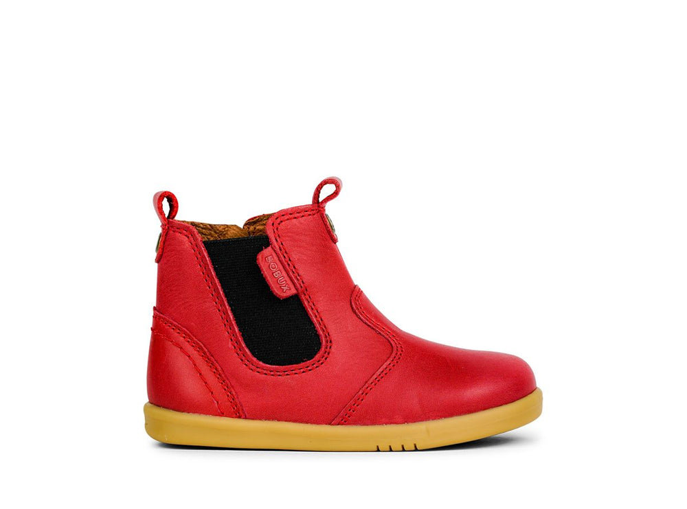 Bobux Step Up Jodhpur Boot Red