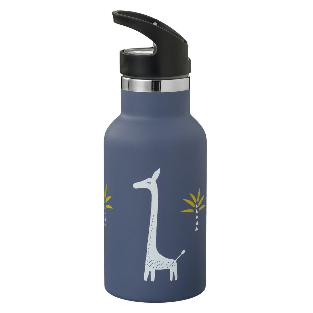 Borraccia termica Giraffa blu Fresk, 350 ml
