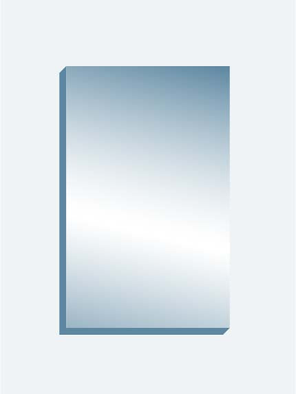 "Wall Mount Mirror 60"" x 96"" x 1.25"" thick"