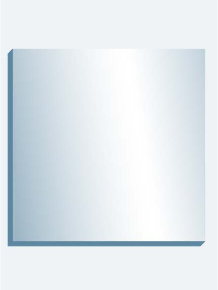 "Optical Grade Mirror 72"" x 72"" x 1-7/16"" thick"