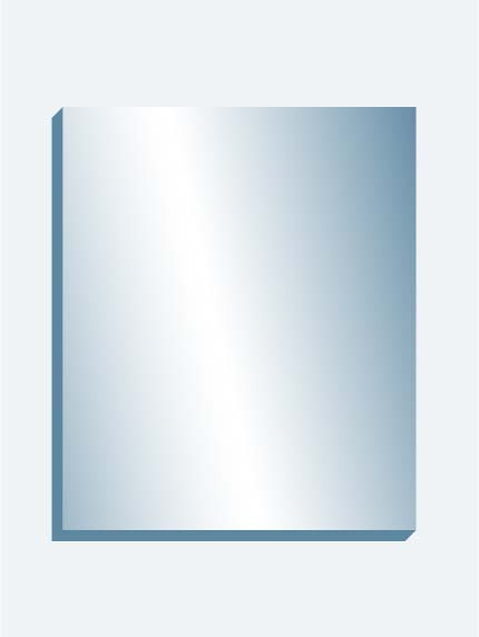 "MEGA Mirror 120"" x 144"" x 1.4375"" thick"