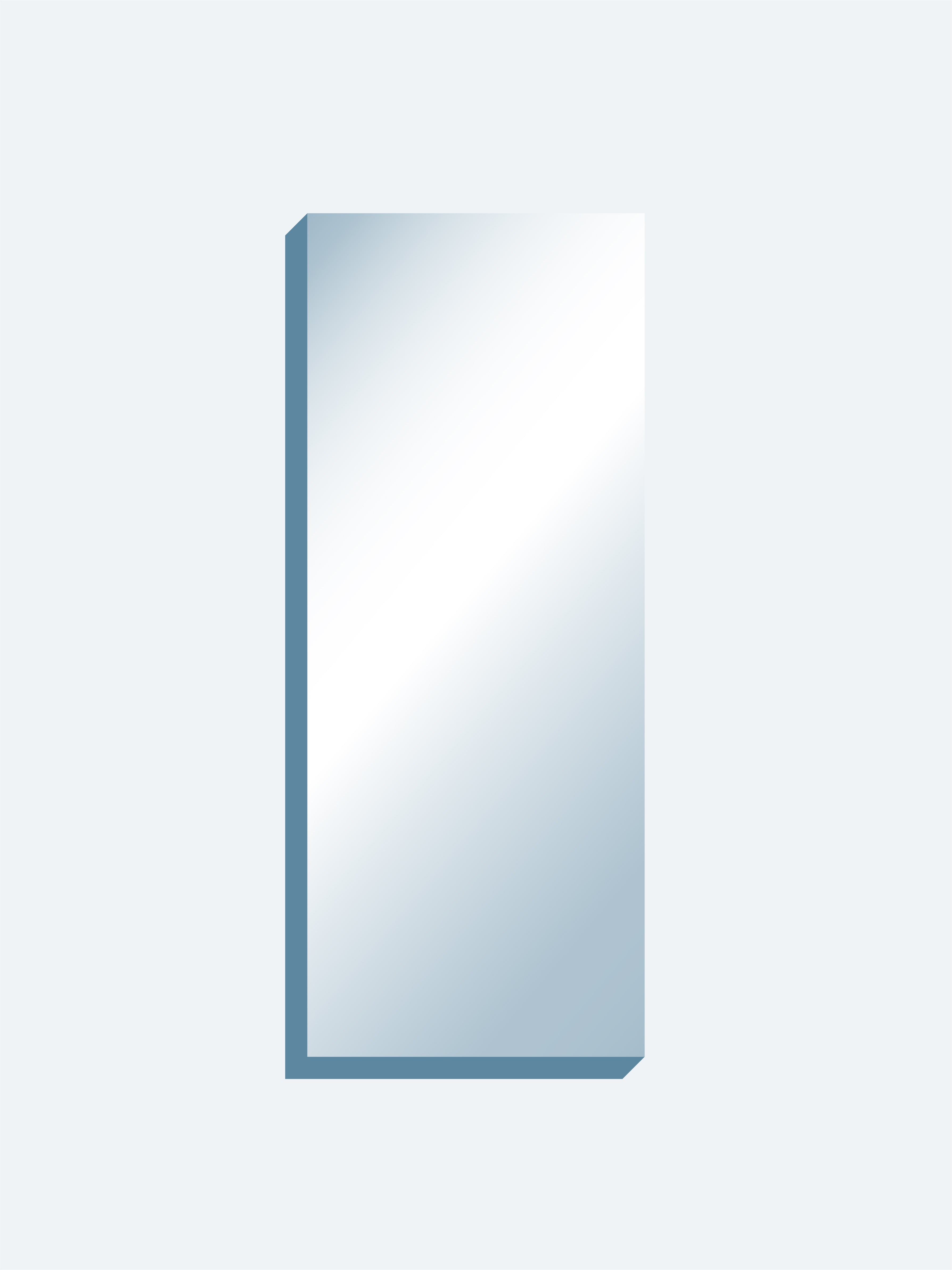 "Optical Grade Mirror 72"" x 180"" x 1-7/16"" thick"