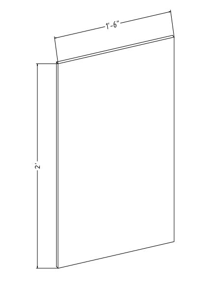 "18"" x 24"" x 1-1/4"" Optical Grade Mirror"