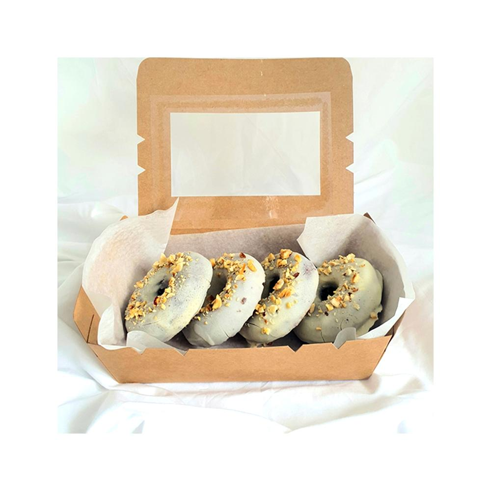 Chocolate Banana<br> Cream Donuts (4pcs) Twins Blend Lab