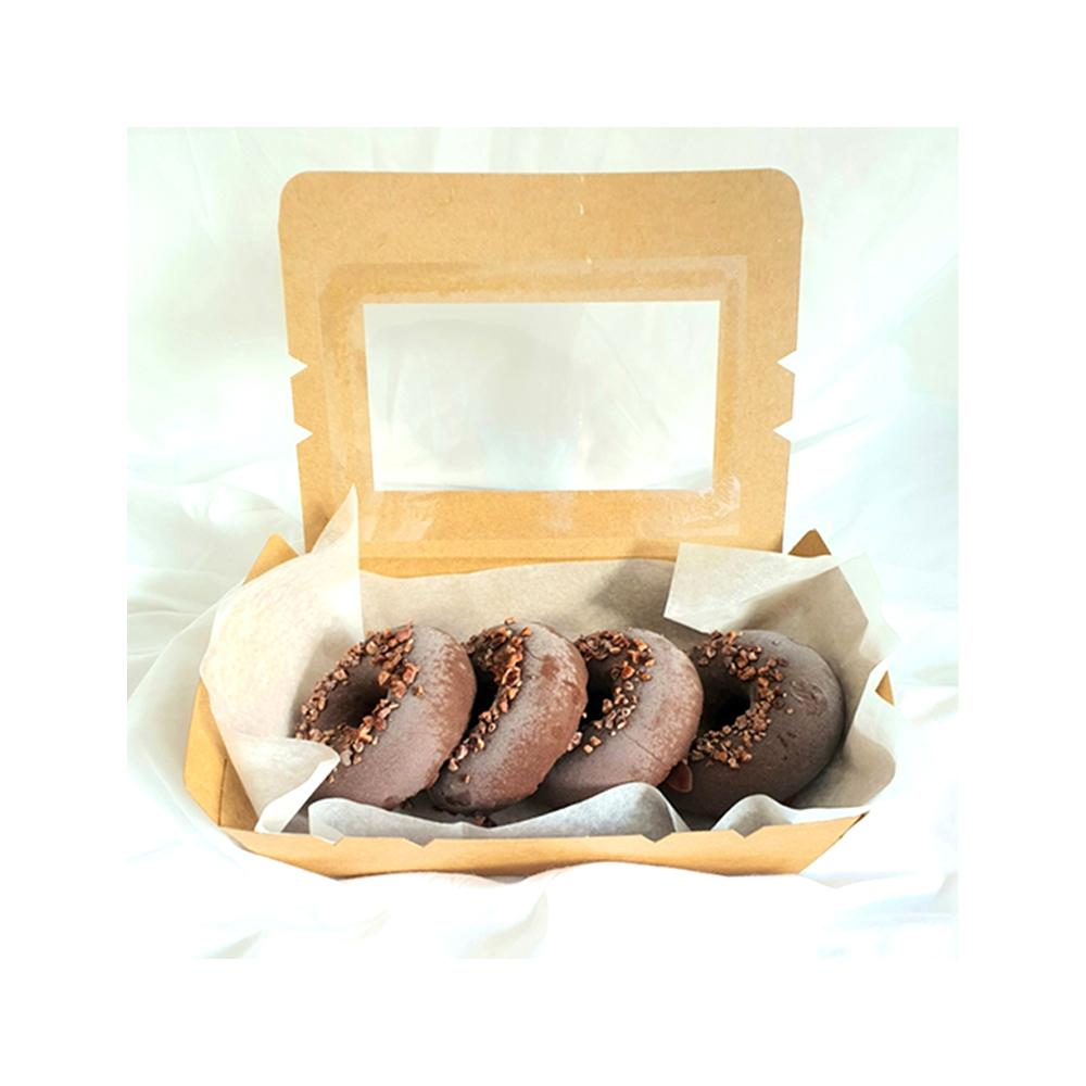Dark Chocolate Caramel <br>Donuts (4pcs) Twins Blend Lab