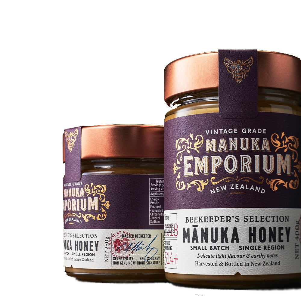 EMPORIUM Manuka Honey<br> (MGO 514+ / UMF 15+) woody foody