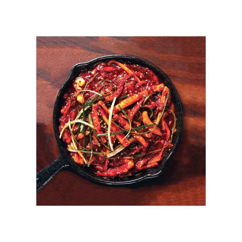 Korean Spicy<br> Stir-Fried Squid Uchef