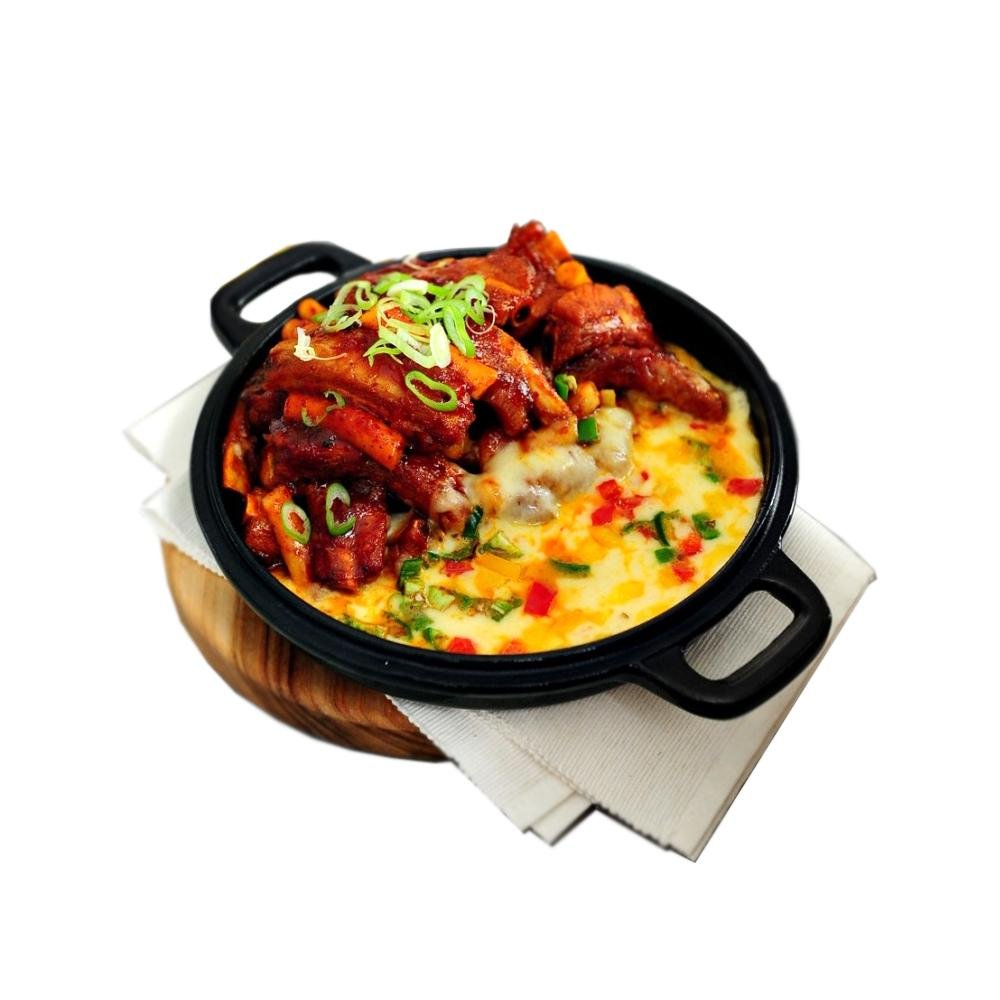 Spicy Cheese Back <br>Ribs Steamed Sim Cook