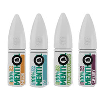 Load image into Gallery viewer, 20mg Riot Squad 100% Menthol Range Nic Salts 10ml (50VG/50PG)
